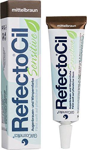 RefectoCil Sensitive Medium Brown Brow & Lash Tint 15ml