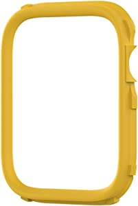 RhinoShield CrashGuard NX Extra Rim [ONLY] Compatible with Apple Watch SE [44mm] & Series 6/5 / 4 [44mm] & Series 3/2 / 1 [42mm] | Additional Accessory for RhinoShield Apple Watch Case - Yellow