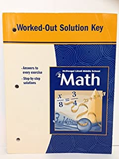 Middle school math course 2 practice workbook mcdougal littell mcdougal littell middle school math course 2 worked out solution key fandeluxe Gallery