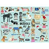 Hot Dogs A-Z 1 Puzzle: 1000 Piece Jigsaw Puzzle