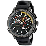 Timex Men's TW2P44300DH Intelligent Quartz Yacht Racer Watch with Black Band