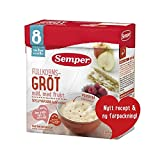 Semper Fruktgrot - Fruit Porridge with Pear and Banana from 8 months 480g - Pack of 6