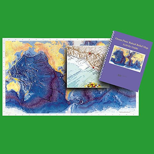 Ocean Floor Raised Relief Map (Ocean Floor Raised Relief Map with Activity Guide)