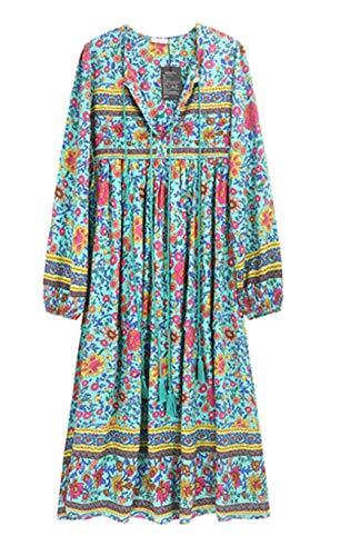 R Vivimos Womens Sleeve Bohemian Dresses product image