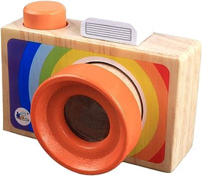 Toyvian Los niños de Dibujos Animados portátil cámara réflex ...
