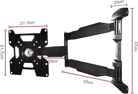 SENSEN Soporte de TV LCD Invisible con Soporte Giratorio, Movimiento Base de TV de Plasma/LCD de 25-50 Pulgadas: Amazon.es: Hogar