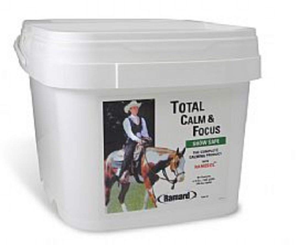 Ramard 079040 Total Calm & Focus Show Safe Supplement for Horses, 6.75 lb/180 Day