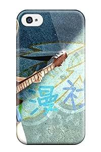 2015 heterochromia guitars anime characters Anime Pop Culture Hard Plastic iPhone 4/4s cases 7631515K616296072 WANGJING JINDA