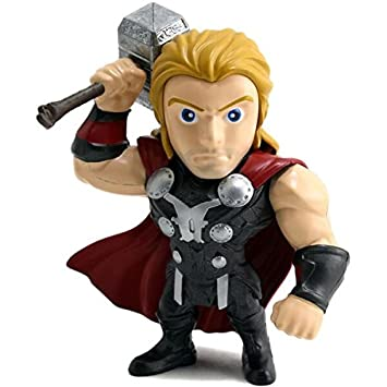 "JADA TOYS 97712 The Avengers Age of Ultron 4/"" Thor métaux Diecast figure"