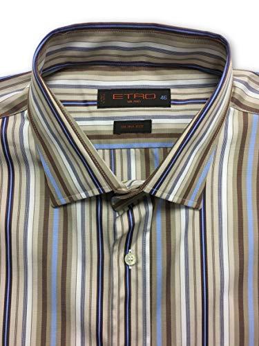 Jacquard Size Beige Fit In Xxl Etro Cotton Slim Shirt Stripe x0HOn4Tw4