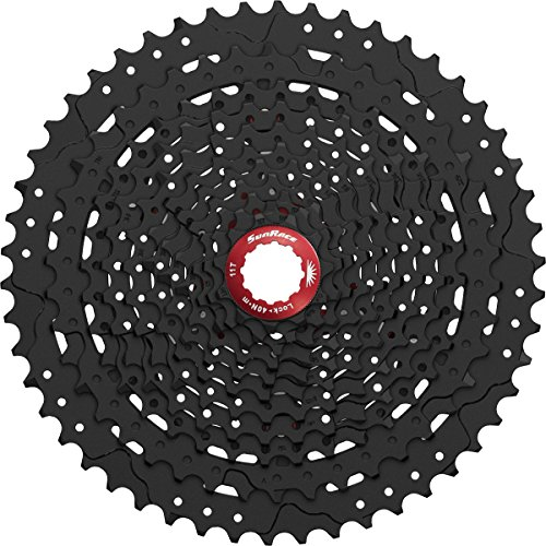 SunRace CSMX80 11-50T 11-Speed Wide Range Mountain Bike Cassette Black