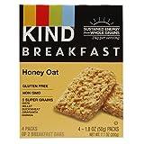KIND Breakfast Bar, Honey Oat, 4 pk 7.1 oz ( 1 Pack )