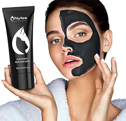 Blackhead Remover Mask [Removes Blackheads] - Purifying Quality Black Peel off Charcoal Mask - Best Mud Facial Mask 60 gram (2.11 ounce) (Pack of 1)