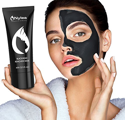 Blackhead Remover Mask [Removes Blackheads] – Purifying Quality Black Peel off Charcoal Mask – Best Mud Facial Mask 60 gram (2.11 ounce) 517yBtNkAPL
