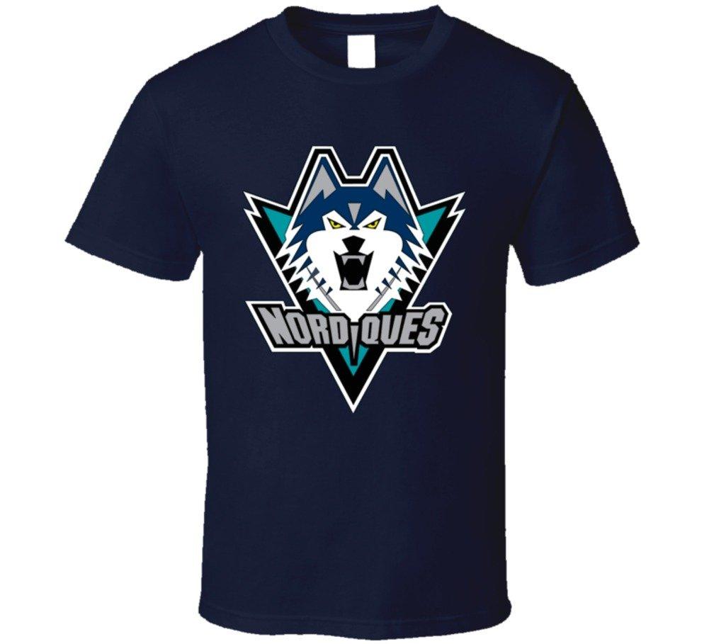 Quebec Nordiques Unused Logo T Shirt 6061