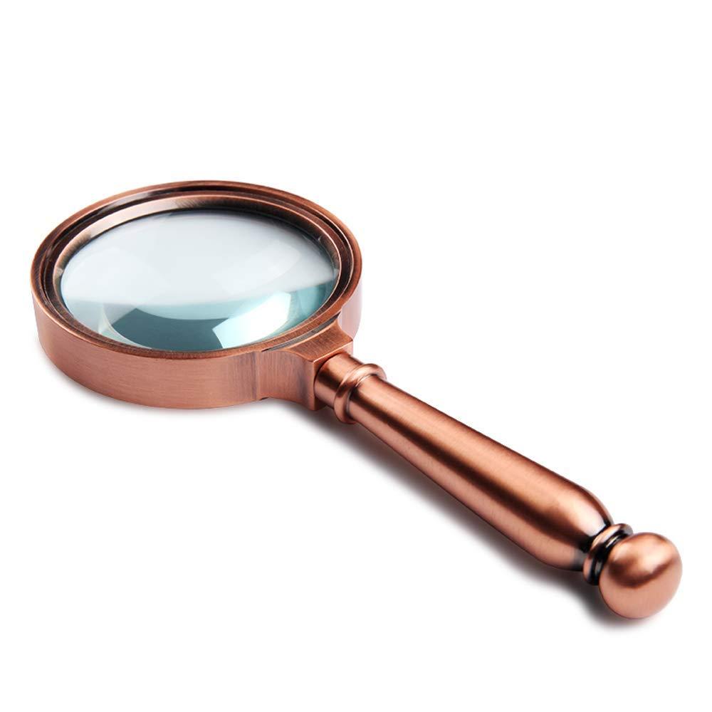 100%安い 実用的な拡大鏡 ハンドヘルド虫眼鏡、10倍虫眼鏡、宝石虫眼鏡 ぶらす)、読書に適した金属製の取っ手 (色、宝石類、切手収集、骨董品、電子修理 ブラス、検査など(色:A) 実地調査、科学研究 (色 : ブラス ぶらす) ブラス ぶらす B07Q45J4TY, ヒガシイズチョウ:31b27b27 --- berkultura.ru