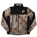 NFL Washington Redskins Hunter Colorblocked Softshell Jacket, Real Tree Camouflage, 3X