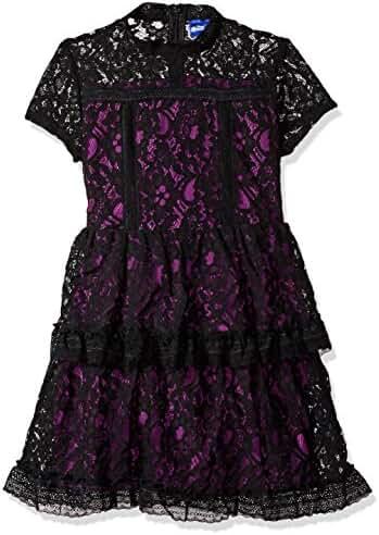 Disney D-Signed Big Girls' Descendants Lace Contrast Dress
