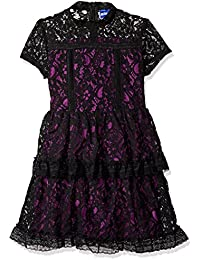 Disney D-Signed Big Girls' Descendants Lace Contrast Dress