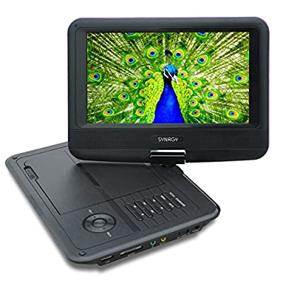 SYNAGY A19 9inch Portable DVD Player CD Player from SYNAGY