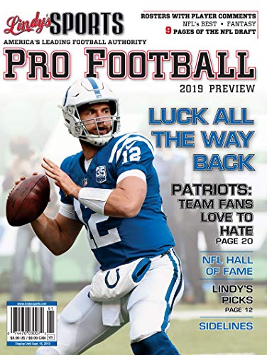 Indianapolis Football Pro - Lindy's 2019 Pro Football Preview - Indianapolis Colts
