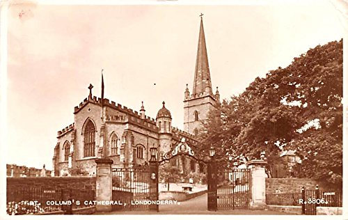 St Columb's Cathedral Londonderry United Kingdom, Great Britain, England Postcard