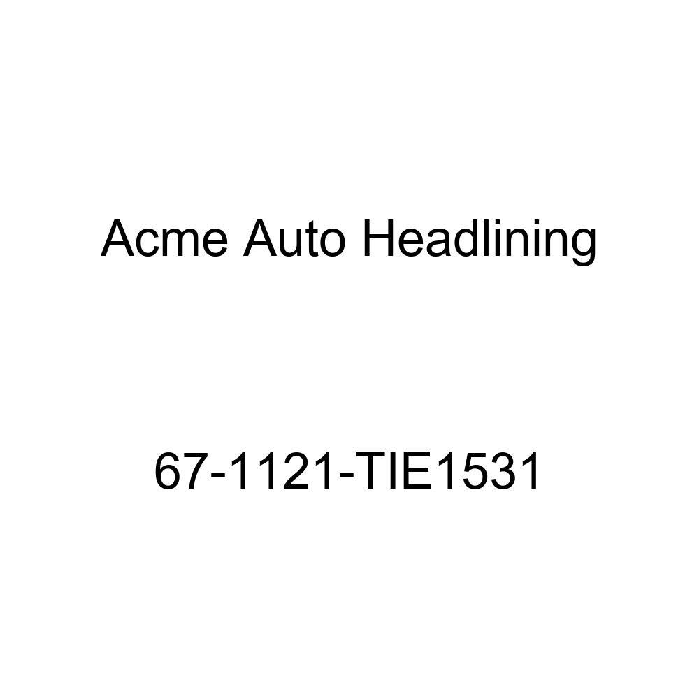 Acme Auto Headlining 67-1121-TIE1531 Chamois Replacement Headliner Buick Gran Sport Skylark /& Special 2 Door Hardtop