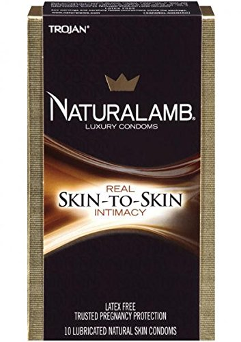 Naturalamb Luxury Lubricated 10 pack---(Package of 2) by Paradise Marketing