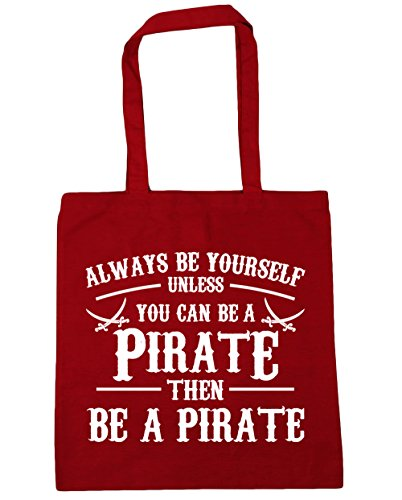 x38cm you HippoWarehouse 42cm Gym yourself can Classic Beach Tote Shopping a litres be 10 Red unless be Always Bag Pirate qIrwI6Z