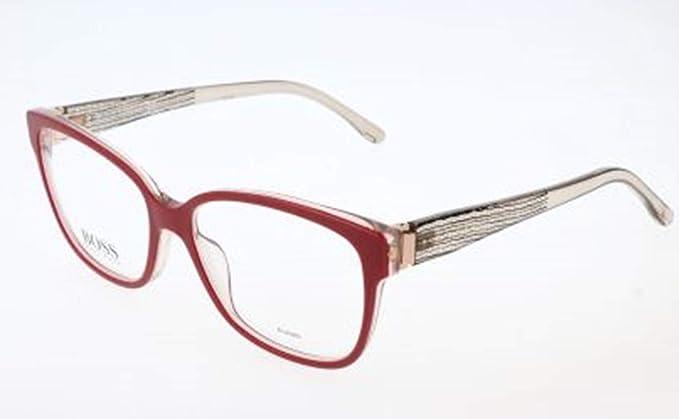 BOSS Hugo Brille Monturas de gafas, Rojo (Rot), 53.0 para ...