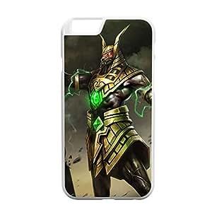 Nasus-002 League of Legends LoL case cover for Apple iPhone 6 Plus - Plastic White