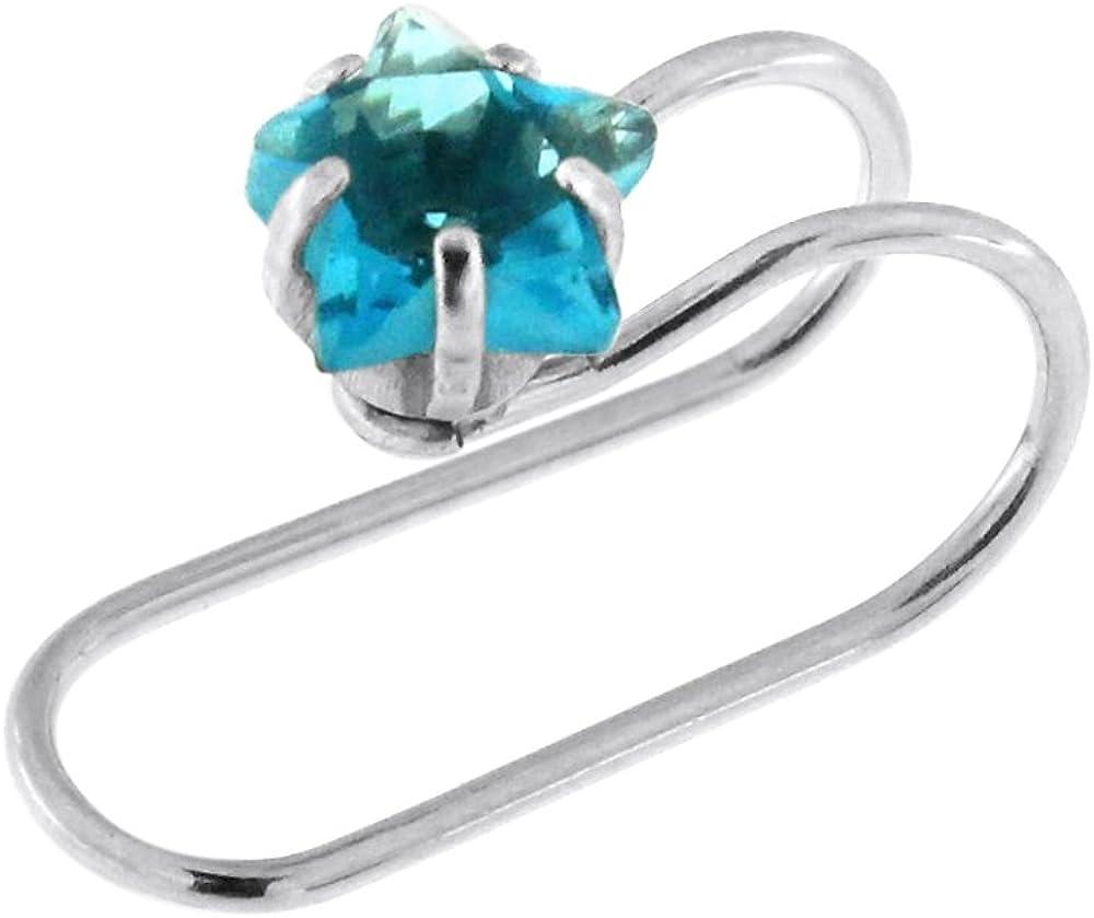 // 6mm Boucles d/'oreilles en acier chirurgical 316L pierres turquoise