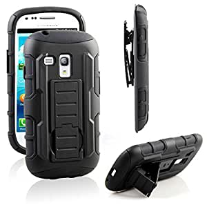 galaxy s3 mini case ranz black rugged impact. Black Bedroom Furniture Sets. Home Design Ideas