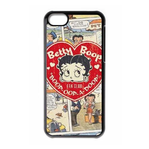 Betty Boop Y3E87W5ZG coque iPhone 5c case coque black 5ROAV5