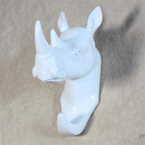 Estante decorativo de la pared Animal Rhino Head Shape ...