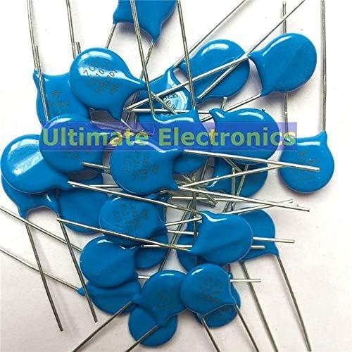 WuLian 50pcs Varistors 10D560K 56V Metal Voltage Dependent Resistor