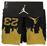 NIKE Big Kids Jordan Two-Tone 2-Pack High Crew Socks 10C-3Y/5-7(Sock Size)