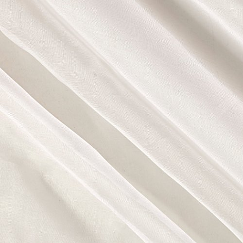 TELIO 0512462 Silk Organza White Fabric The Yard