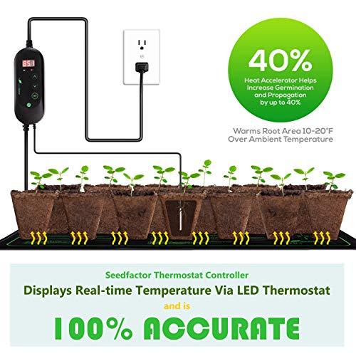 Seedfactor MET certified Seedling Heat Pad