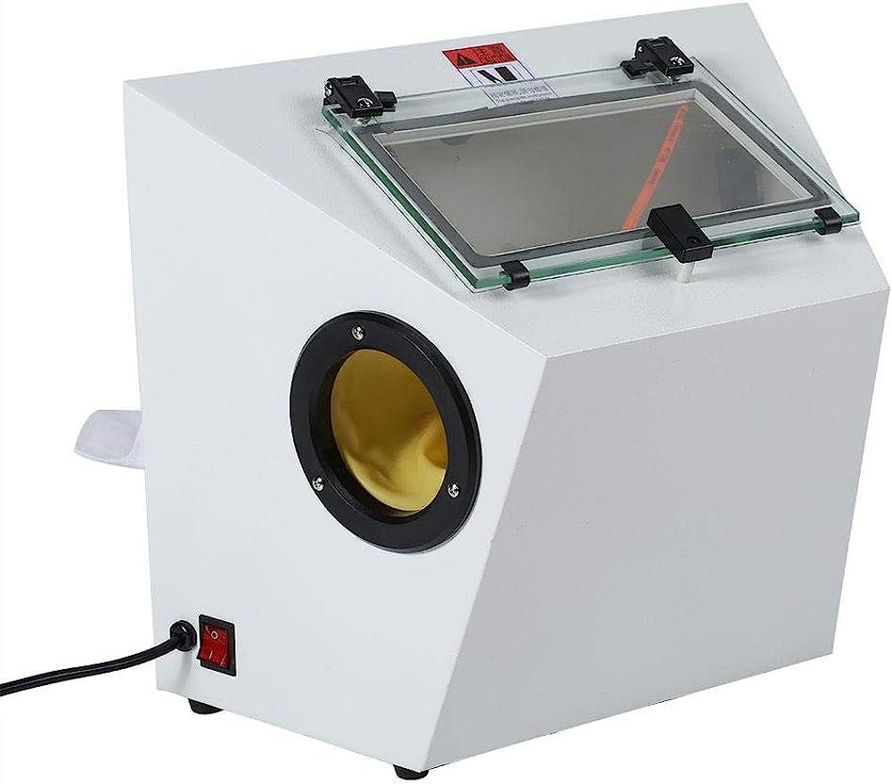 Powerful Dental Blasting Machine 110V Recyclable Sandblaster Sand Blaster Dental Lab Polishing Instrument Restorative Polish Machine Sandblasting Fine Dentistry Tools
