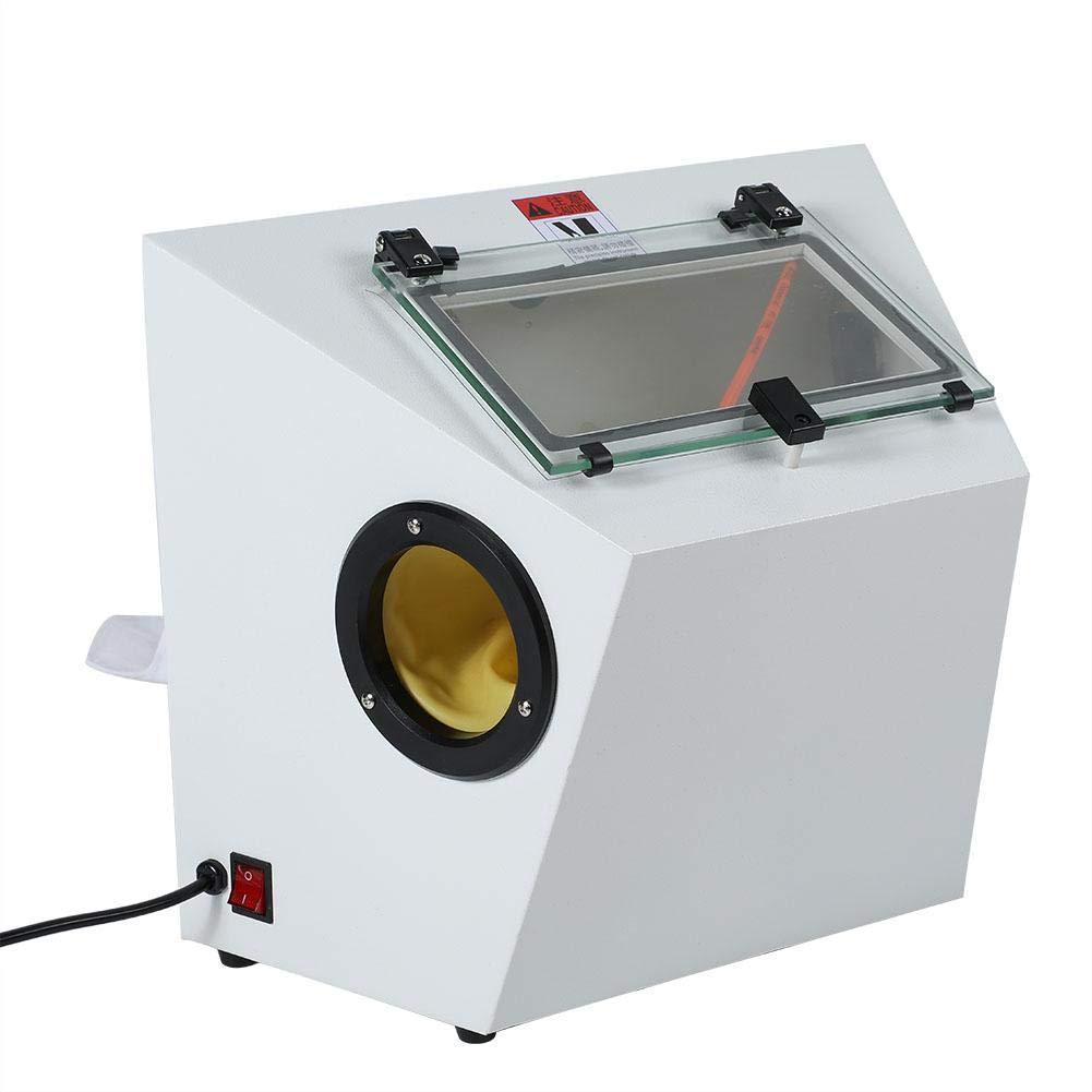 EU Tragbare Sandstrahlmaschine Entrostungspolierschmuck Sandstrahlwerkzeuge Tragbarer Schwerkraftsandstrahler Luftsandstrahler Sandstrahlwerkzeug Duevin Sandstrahlmaschine
