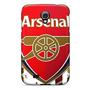 Samsung Galaxy S4 Shock-Absorbing Cell-phone Hard Cover Custom Trendy Sports Soccer Team Arsenal Fc Skin [ORS7628mkbx]