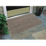 """GrassWorx Flair Doormat, 24 by 36"""", Earth Taupe"""