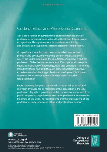 Buy Code of Ethics and Professional Conduct Book Online at Low