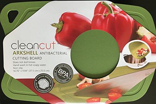 Plastic Cutting Board, Antibacterial Ark Shell, Cutting Mat, Chopping Board, Flexible, Nonslip, Size - 15