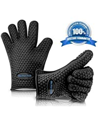 Access *Premium Quality* BBQ Grill Gloves Heat Resistant Protection Silicone Gloves Great for Cooking Barbecue Baking... discount