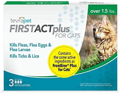 Amazon.com: tevrapet firstact Plus y de pulgas Tick para ...