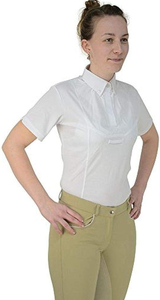HyFASHION - Camisa de Manga Larga para competición hípica Modelo Tilbury para Mujer señora: Amazon.es: Ropa y accesorios