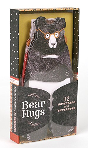 Bear Hugs: 12 Notecards and Envelopes: (Cute Notecards, Notecards for Friends, Artistic Notecards with Envelopes) from Chronicle Books