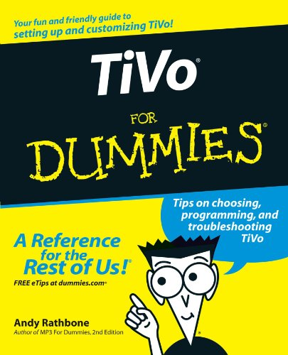 TiVo For Dummies-cover